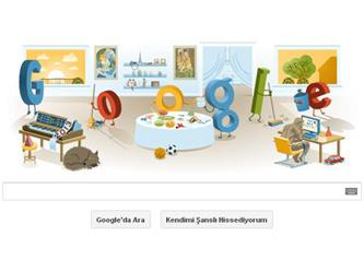 Googledan 2013 Yılbaşı Logosu Nasıl