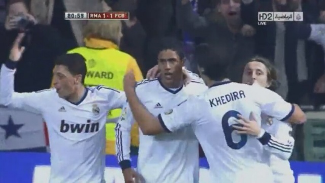 Real Madrid 1-1 Barcelona Maçının Gollerini İzle