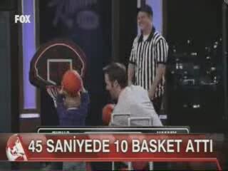 2 Yaşında Basket Atan  Çocuk