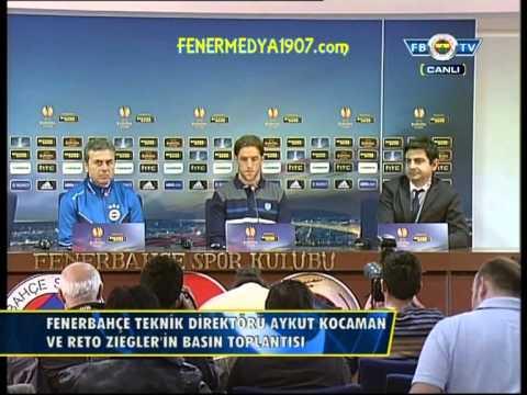 20 Şubat Bate Borisov Maçı Öncesi Aykut Kocaman  Basın Toplantısı