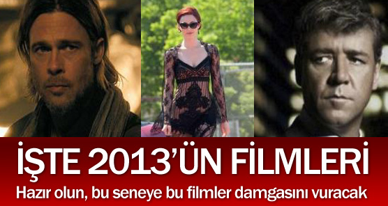 2013 ün En kaliteli Filmleri