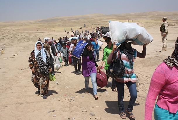 3 Günde 15 Bin Kişi Suriyeye Sığındı