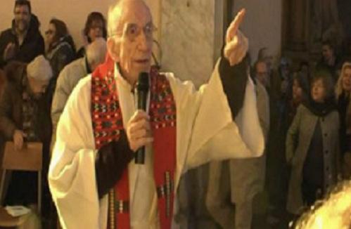 84 Yaşındaki Rahip Ciao Bella Şarkısı İzle