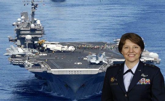 ABD Hava Kuvvetlerine İlk Defa Kadın Komutan Atandı