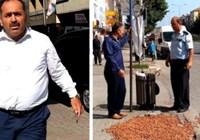 AKP İlçe Başkanı Partimin Önüne Biri Fındık Dökmüş Gelin Bu Adamı Temizleyin