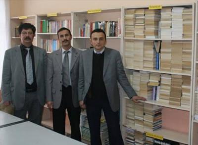 Afyonda Lefter Kutuphanesi Acildi Afyonda Lefter Kütüphanesi Açıldı
