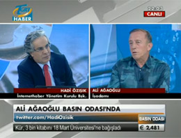 Ağaoğlundan Erdoğana Eleştiri