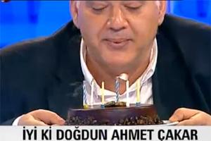 Ahmet Çakara Canlı Yayında Büyük Sürpriz