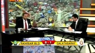 Akhisar Belediyespor 1 – 2 Galatasaray 15 Şubat 2013 GS TV Spikeri Drogba'nın Golü