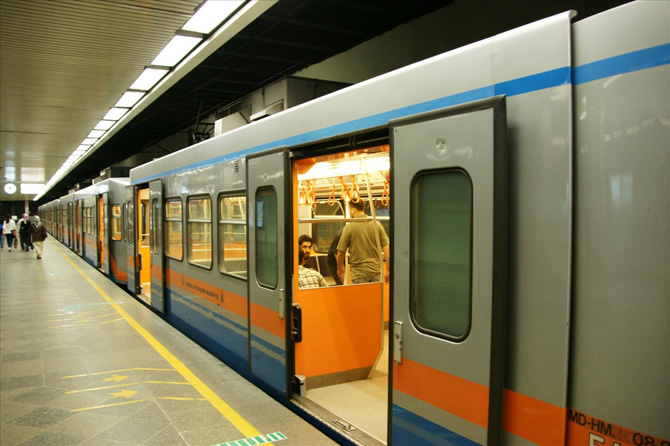 Aksaray Metrosuna Yolcu Bilgilendirme Sistemi
