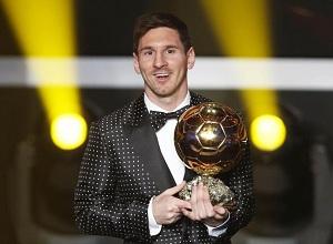 Altın Top Ödülü Lionel Messi`nin