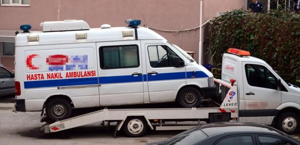 Ambulanstan Uyuşturucu Çıktı