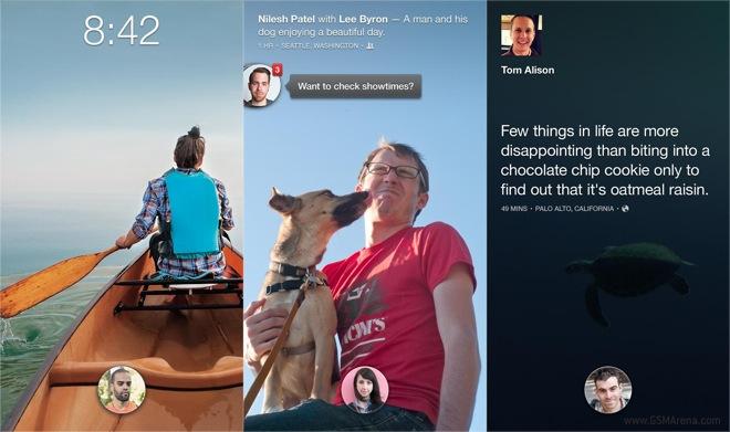 Android Uygulamasında Facebook Cover Feed Özelliği