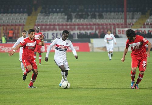 Antalyaspor Mersin 5-0 Maçı Görüntüleri