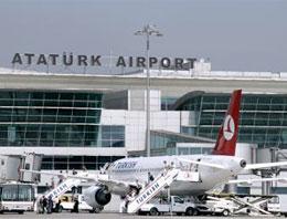 Atatürk Havalimanına Giren Köpek