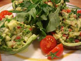 Avokado Salatası Yapılışı
