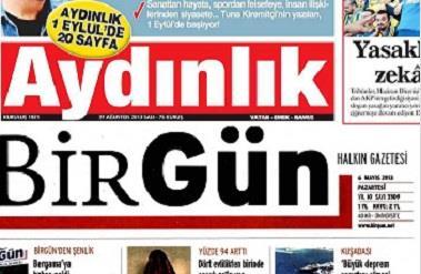 Aydınlık Ve BirGün Gazetesi Satanlara Gözaltı Şoku
