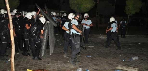 BDPnin Ceylanpınardaki İzinsiz Eylemine Müdahale