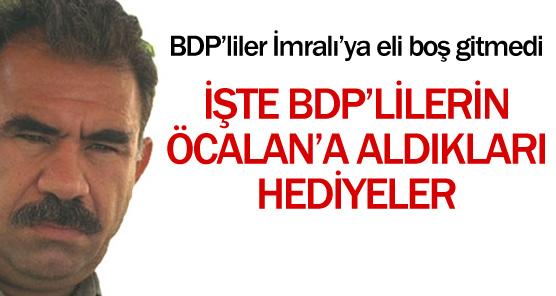 BDplilerin Abdullah Öcalana Götürdükleri Hediyeler