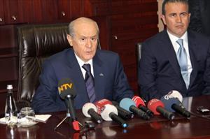 Bahçeli Başbakan Mısır Darbesinde ABDye Ses Çıkartmıyor