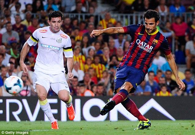 Barcelona 8-0 Santos Maçı Golleri 02.08.2013