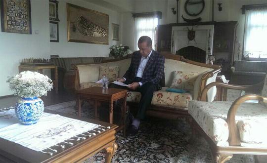 Başbakan Erdoğanın Baba Ocağından İlk Kare