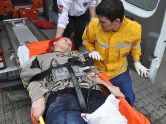Sakarya Başından Vurulan Kadın Ağır Yaralandı