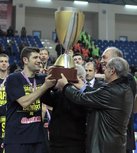 Basketbol Spor Toto Türkiye Kupasını Fenerbahçe Ülker Kazandı