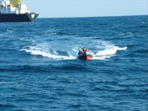 Batan Teknedeki 2 Balıkçı Sahil Güvenlik Tarafından Kurtarıldı