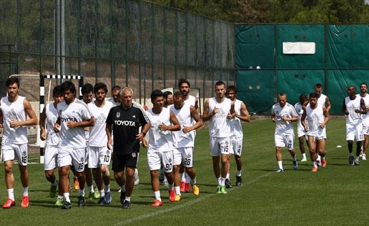 Beşiktaş Kayseri Erciyesspor Maçı Hazırlıklarına Başladı