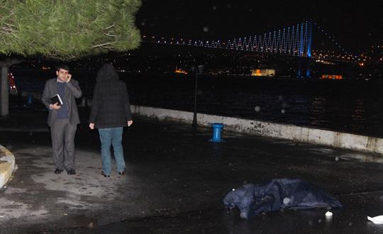 Beşiktaşta Denizde Erkek Cesedi Bulundu