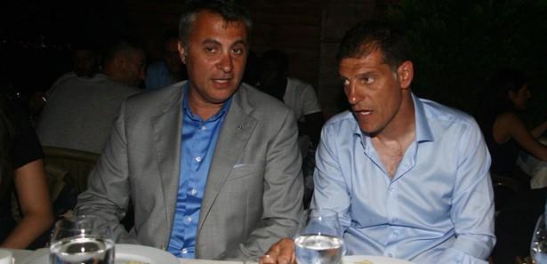 Beşiktaşta Yeni Sezon Öncesi Moral Yemeği