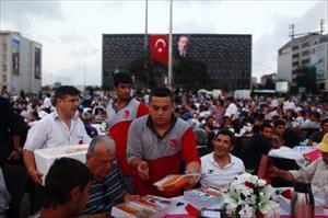 Beyoğlu Belediyesi Taksim Meydanı