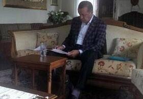 Bilal Erdoğan Babasının Çok Özel Karesini Paylaştı
