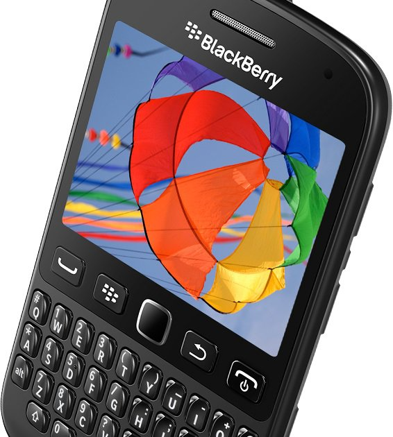 BlackBerry OS 7.1 İçeren BlackBerry 9720