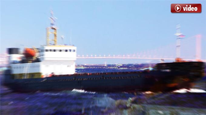 Boğazda Kaza Yapan Gemileri İzle