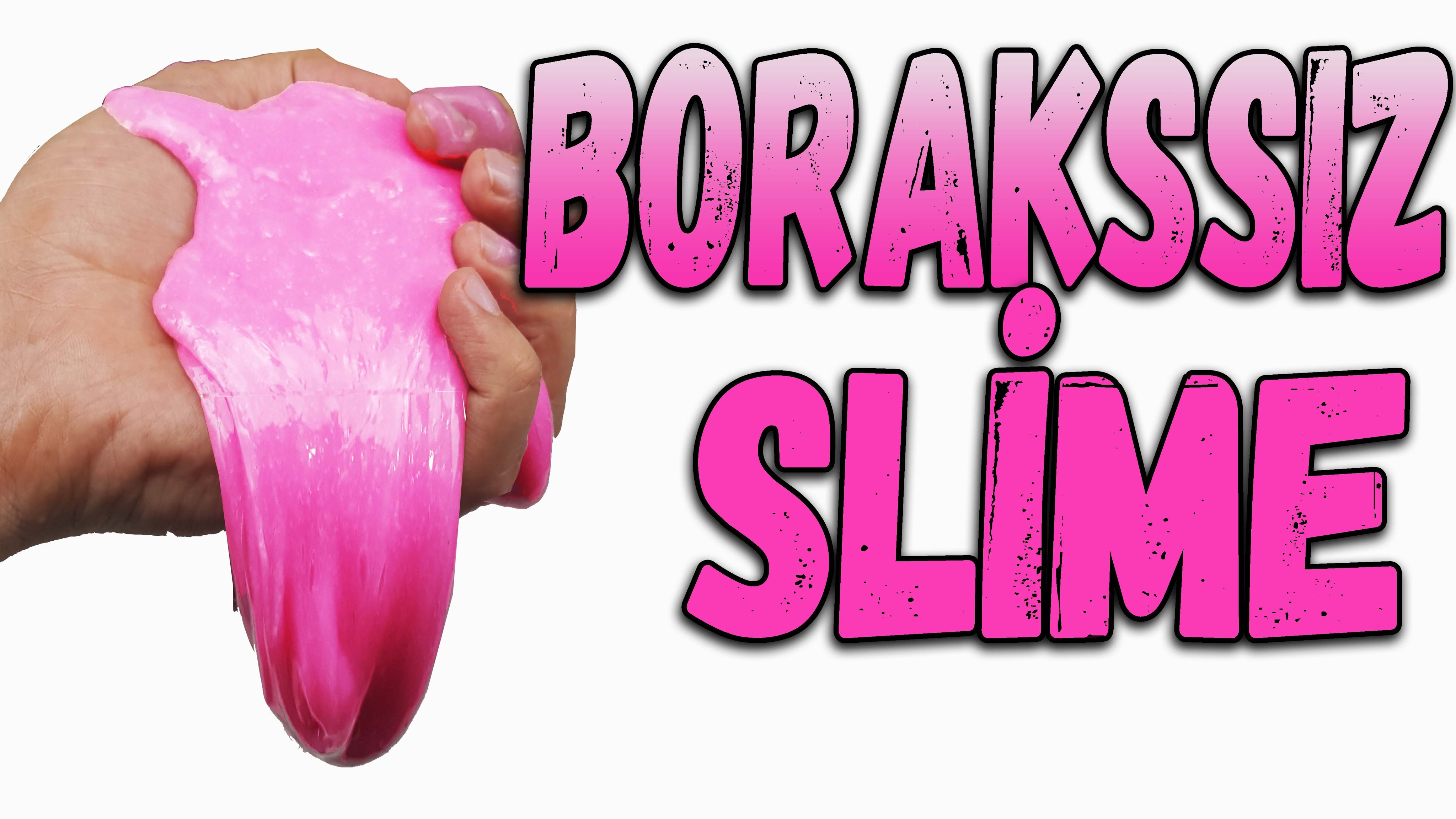 Borakssız Slime Nasıl Yapılır Boraks Olmadan Deterjan İle Slime Yapılışı