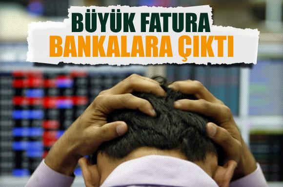 Borsadaki Kaybın Yarısı Bankalardan
