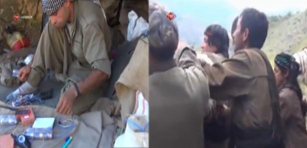 Öldürülen PKKlı Bombacıların Görüntüleri