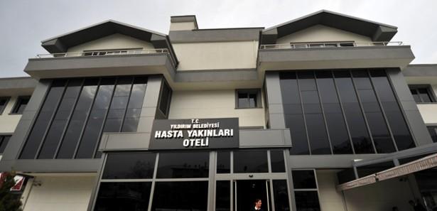 Bursada Hasta Yakınlarına 25 Tlye 5 Yıldızlı Otel