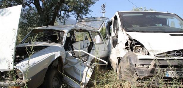 Bursada Trafik Kazası: 10 Yaralı
