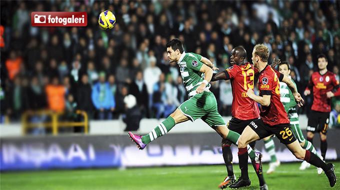 Bursaspor 1 – 1 Galatasaray Maçı Gollerini İzle