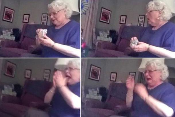 Büyükannenin Torun Sevinci