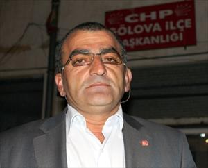 CHP Gölova İlçe Başkanı Arif Çelik İstifa Etti