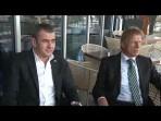 Christoph Daum Sözleşme İmzalamak İçin Bursada  Anadolu Ajansı
