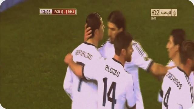 Cristiano Ronaldonun Barcelonaya Attığı 2 Gol