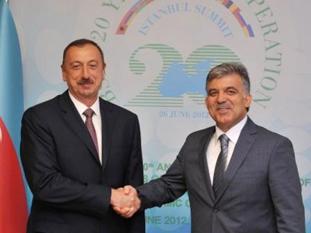 Cumhurbaşkanı Gül Azerbaycanda