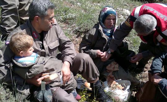 Dağda Kaybolan Anne Ve Kızı Kurtarıldı