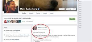 Derdini Anlatmak İçin Zuckerberg