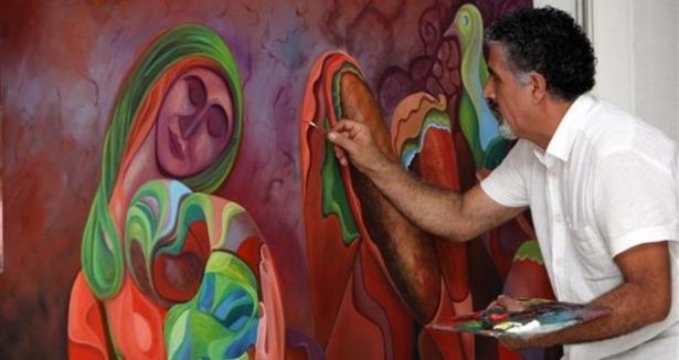 Doğunun Picassosundan Dünyada Bir İlk